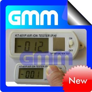 Mini Air Ion Counter negative -ve ion tester with peak hold