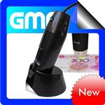 USB Handheld Digital 2.0MP Microscope 10X-200X with UV Light