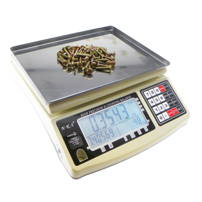 30kg 0 1g high precision counting weighing scale balance counting