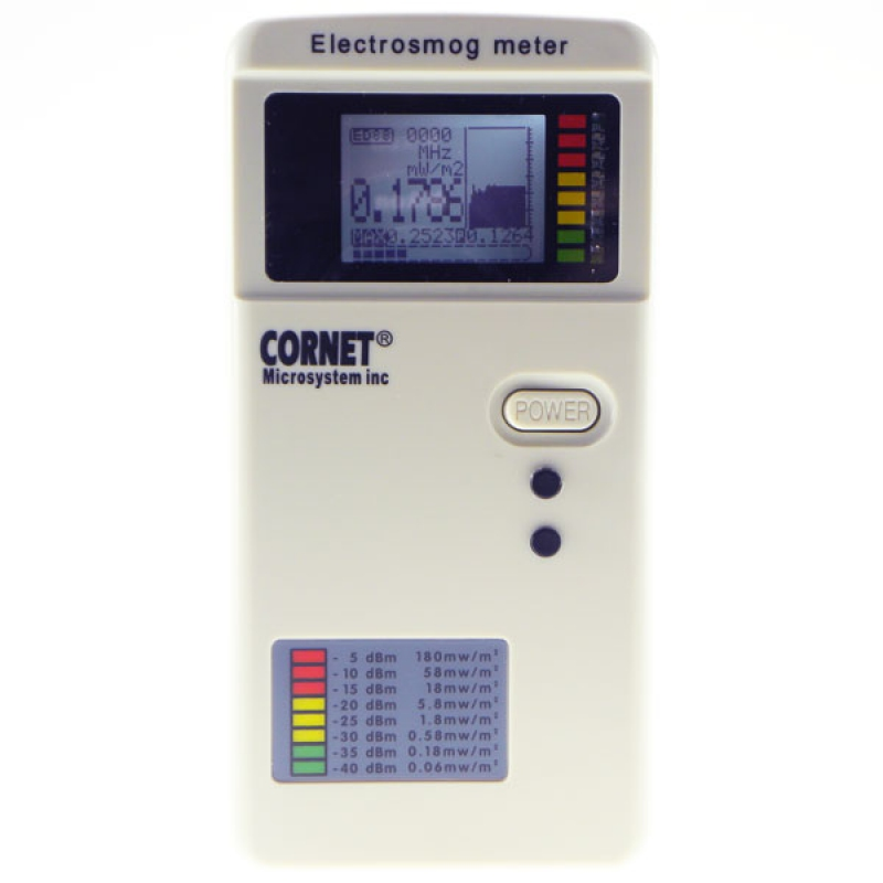 Lf Water Meter : Cornet electrosmog ed t emf rf lf elf tri mode field