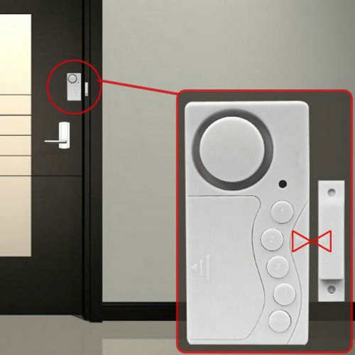 GMM Multi-function Magnetic Door Sensor Close Door Reminder, Door Open Bell, Security Alarm