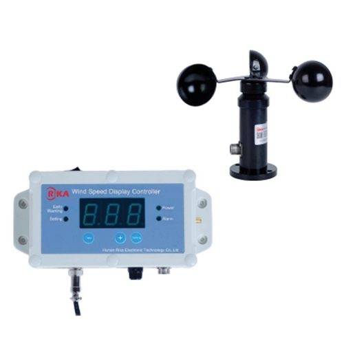 Rika Wired Anemometer Wind Speed Display Controller 216km/h 60m/s