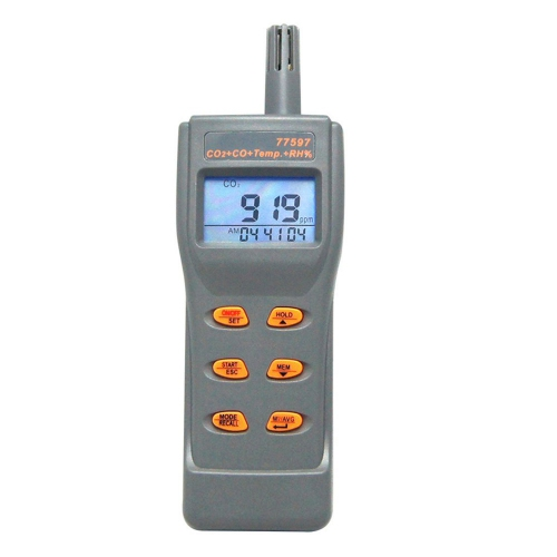 AZ77597 Portable Combo CO2 CO Temperature Humidity Logger Monitor