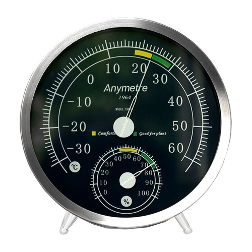 Anymetre TH603 Analog Wall / Desktop Hygro-Thermometer -30ºC~60ºC (Ø130)