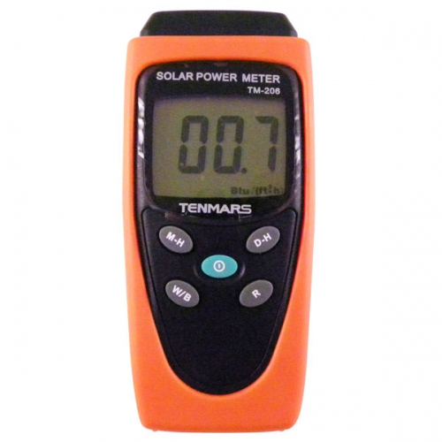 Tenmars TM-206 BTU Solar Power Meter / Pyranometer