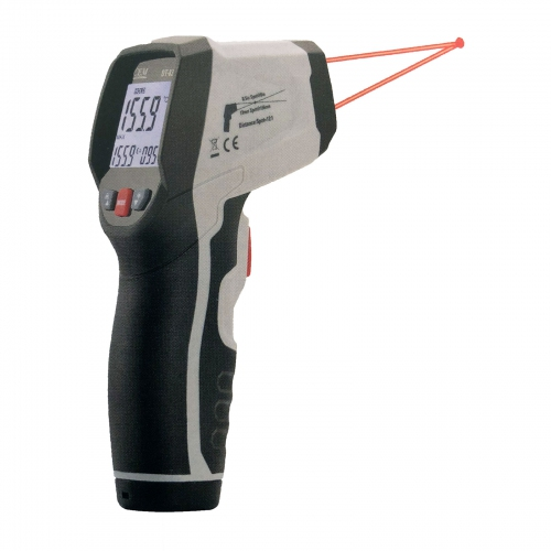 CEM DT-833 Professional Infrared Thermometer, -50~650°C 12:1 IP54