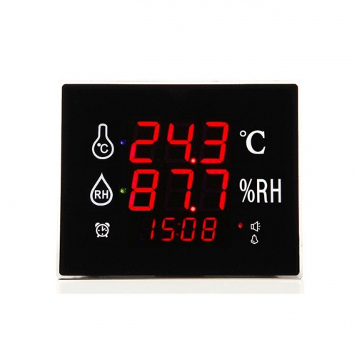 "GMM-868 Wall Mount Desktop 1.5"" LED Thermo-Hygrometer Monitor (220x180)"