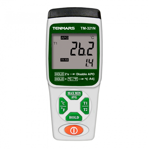 Tenmars TM-321N Dual Channels K Type Thermometer