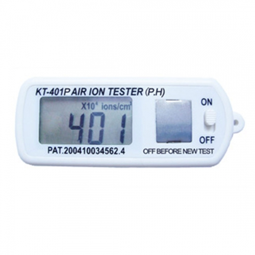 KT-401P Mini Air Ion Counter negative -ve ion tester with peak hold