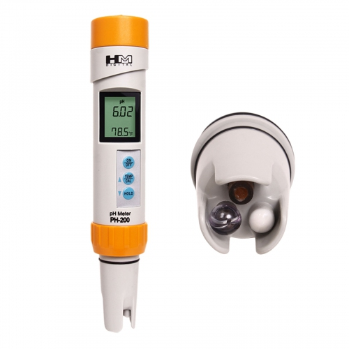 HM Digital PH-200 waterproof pH / Temperature Meter