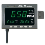 Tenmars TM-187D CO2 / Temperature/ Humidity Monitor with Datalogger