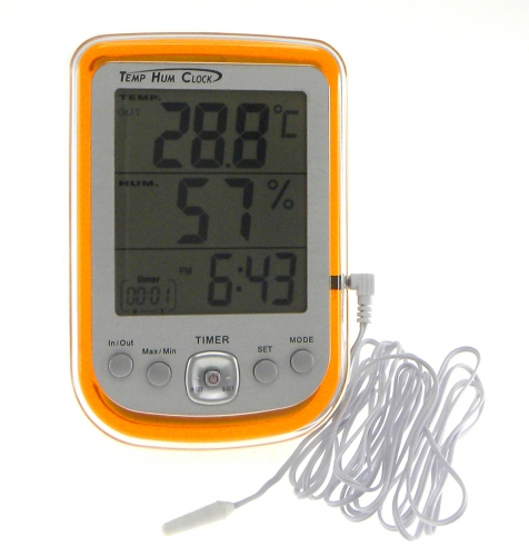 DYS DHT-1 Digital Hygro-Thermometer with Clock