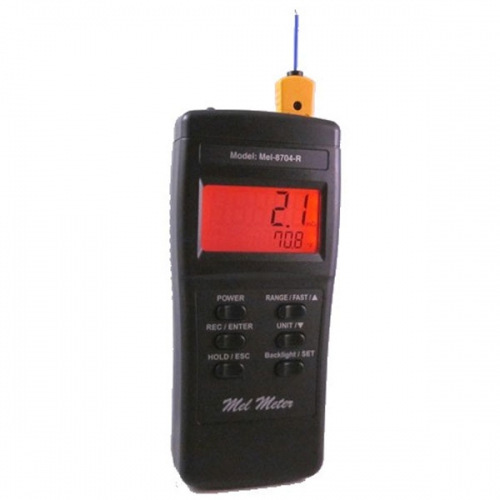 Mel-8704R AC/DC EMF, Temperature & Flashlight in One Handheld instrument