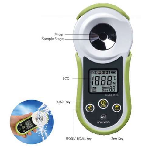 HM Digital SCM-1000 Digital Smart Refractometer